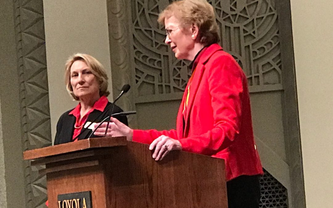 Mary Robinson Advocates Climate Justice at Loyola's Climate Change Conference