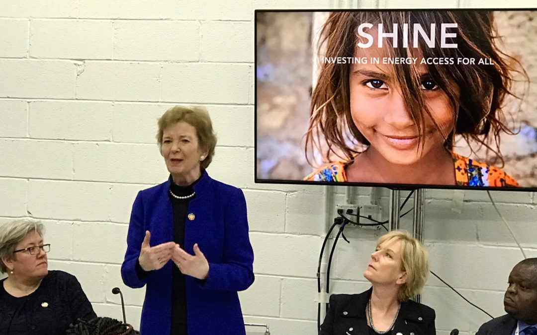 Announcing SHINE: Investing in Energy Access For All